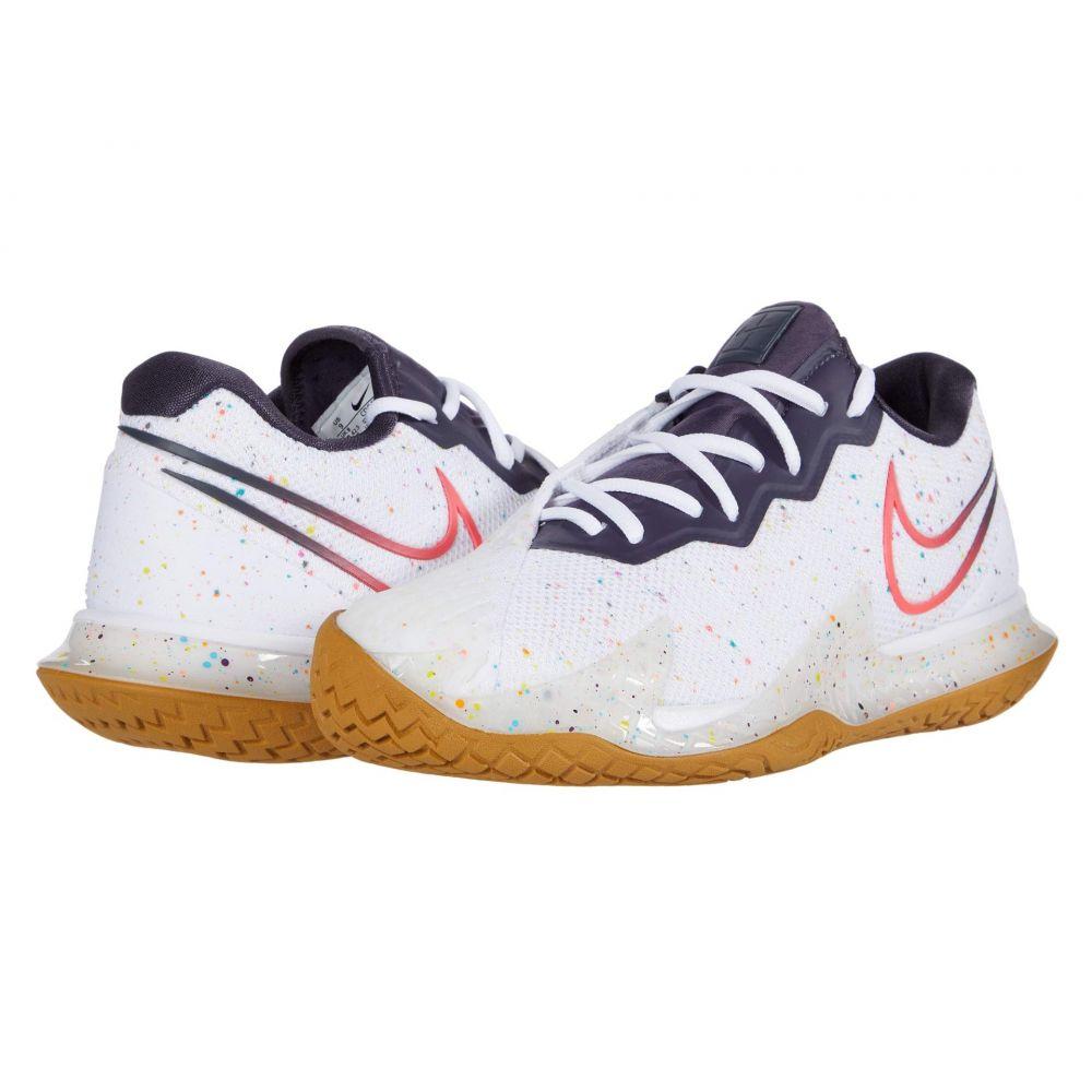 ナイキ Nike メンズ テニス エアズーム シューズ・靴【Court Air Zoom Vapor Cage 4】White/Laser Crimson/Gridiron/Wheat