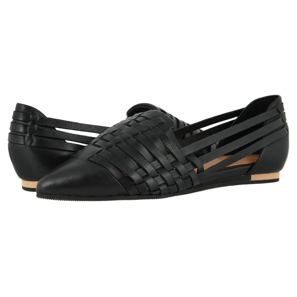 ソフトウォーク SoftWalk レディース スリッポン・フラット シューズ・靴【SAVA x Lola】Black