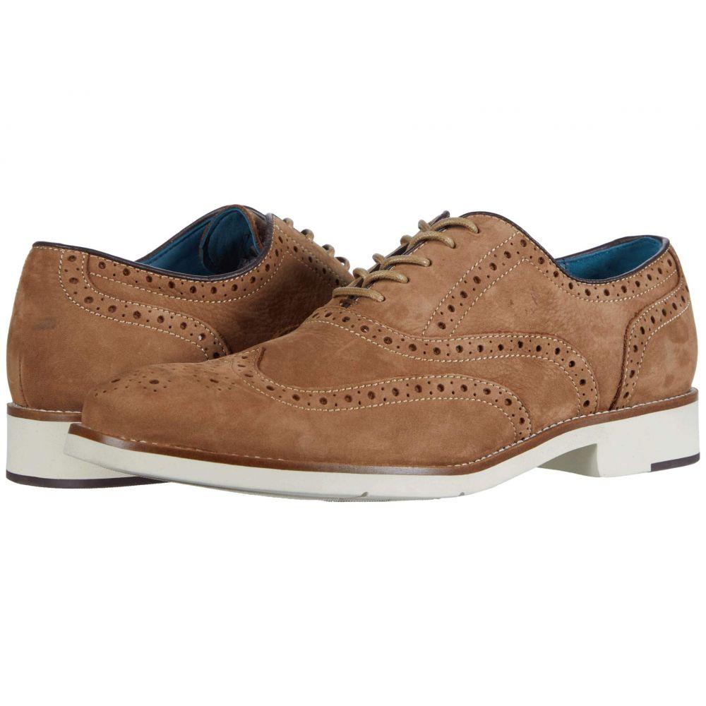 ジョンストン&マーフィー Johnston & Murphy メンズ 革靴・ビジネスシューズ ウイングチップ シューズ・靴【Watkins Wing Tip】Camel Nubuck