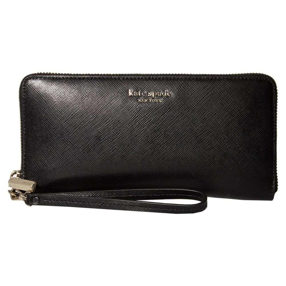 ケイト スペード Kate Spade New York レディース 財布 【Spencer Travel Wallet】Black