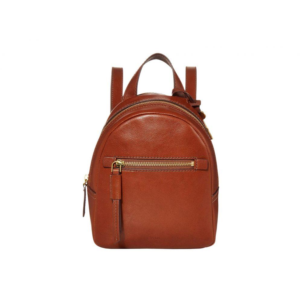 フォッシル Fossil レディース バックパック・リュック バッグ【Megan Mini Backpack】Brown