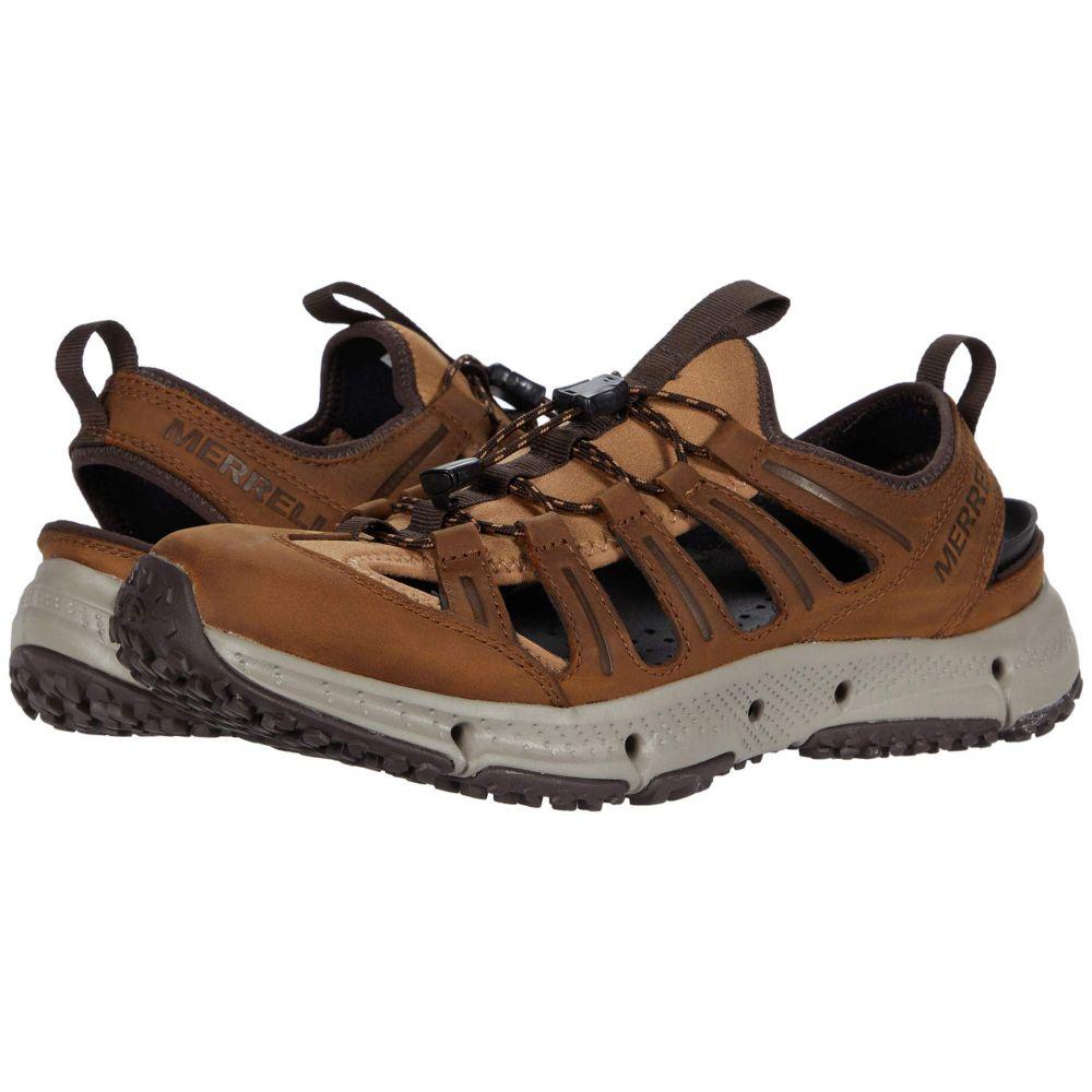 メレル Merrell メンズ スニーカー シューズ・靴【Hydrotrekker Leather Sieve】Merrell Tan