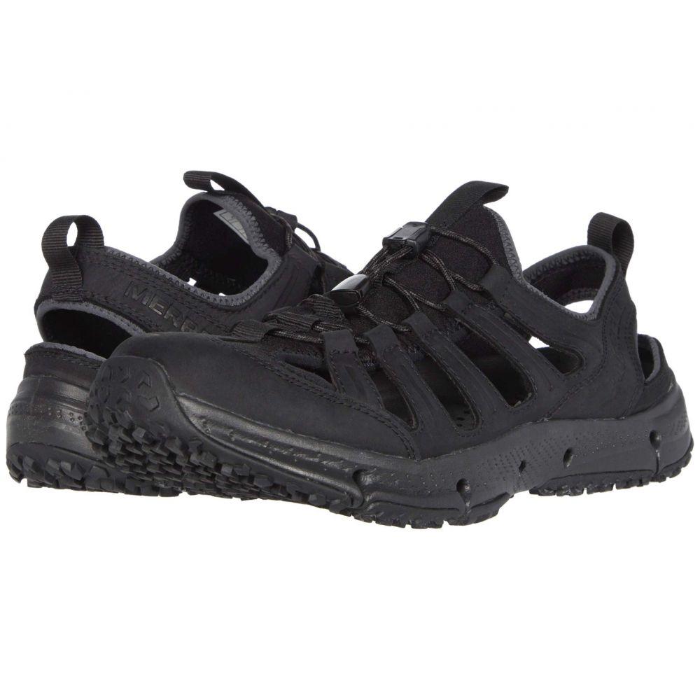 メレル Merrell メンズ スニーカー シューズ・靴【Hydrotrekker Leather Sieve】Black
