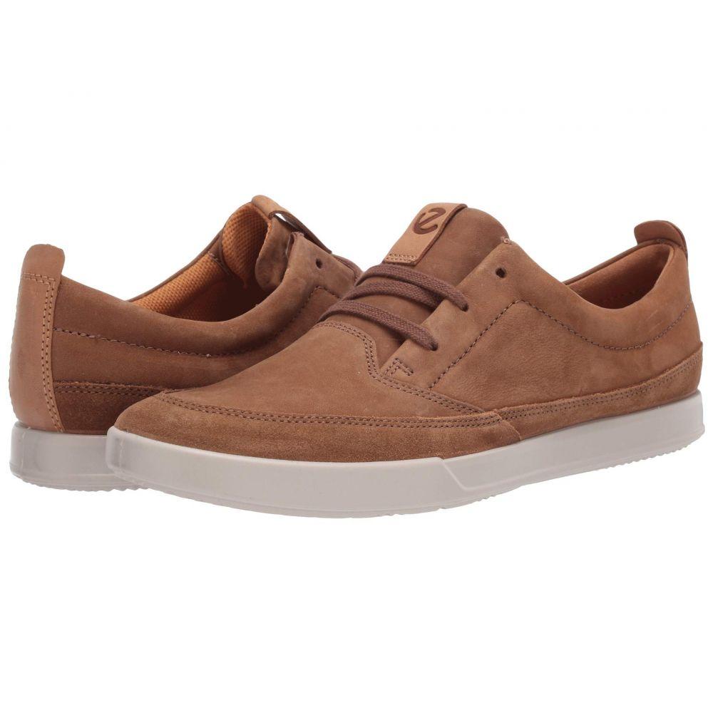 エコー ECCO メンズ スニーカー シューズ・靴【Cathum Leisure Sneaker】Camel/Camel/Lion