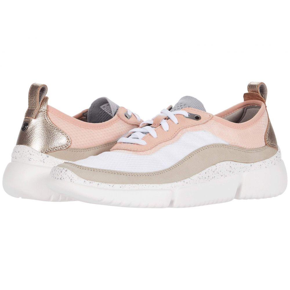 ロックポート Rockport レディース スニーカー シューズ・靴【R-Evolution Trainer】Pink/Taupe/White