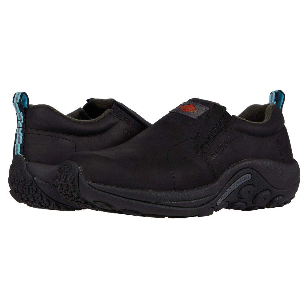 メレル Merrell Work レディース スニーカー シューズ・靴【Jungle Moc Leather Slip Resistant】Black