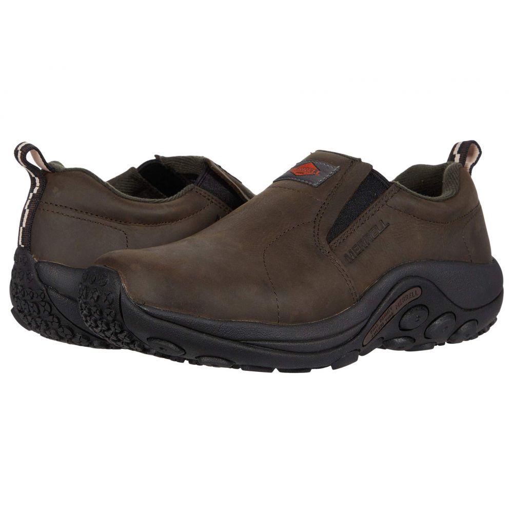 メレル Merrell Work レディース スニーカー シューズ・靴【Jungle Moc Leather Slip Resistant】Espresso