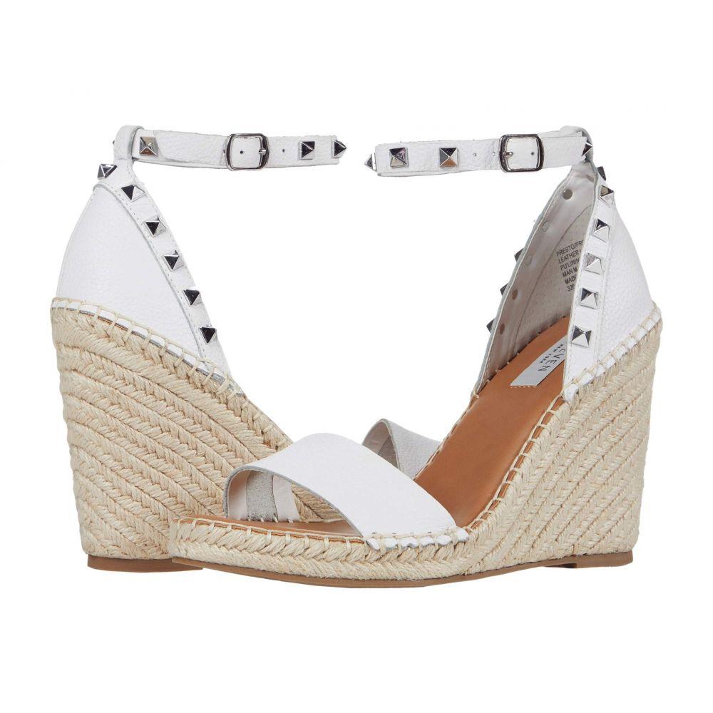 スティーブン ニューヨーク STEVEN NEW YORK レディース サンダル・ミュール シューズ・靴【Presto】White