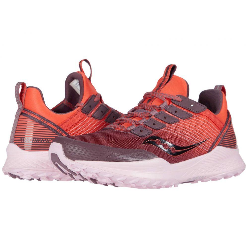サッカニー Saucony レディース ランニング・ウォーキング シューズ・靴【Mad River TR】Coral