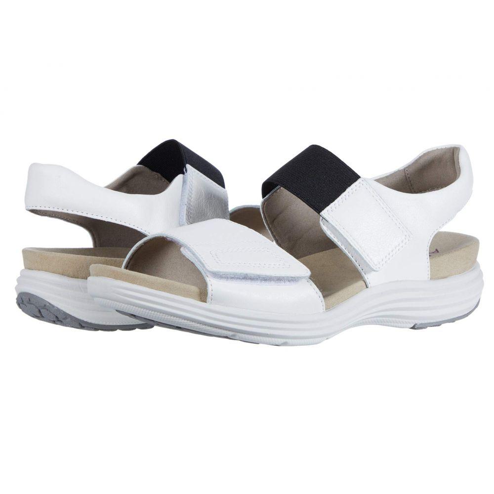 アラヴォン Aravon レディース サンダル・ミュール シューズ・靴【Beaumont Two Strap】White