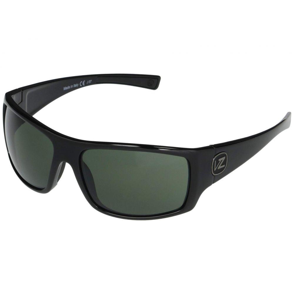 ボンジッパー VonZipper メンズ メガネ・サングラス 【Suplex】Black Gloss Vintage Grey