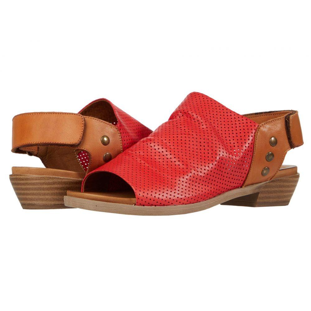 スプリングステップ Spring Step レディース サンダル・ミュール シューズ・靴【Rapture】Red