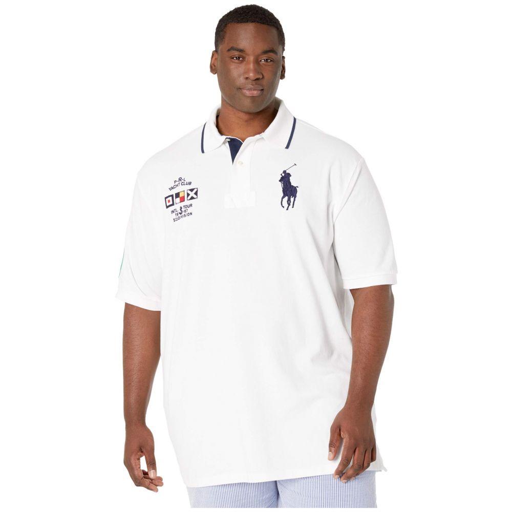 ラルフ ローレン Polo Ralph Lauren Big & Tall メンズ ポロシャツ 大きいサイズ 半袖 トップス【Big & Tall Short Sleeve Basic Mesh Polo】White