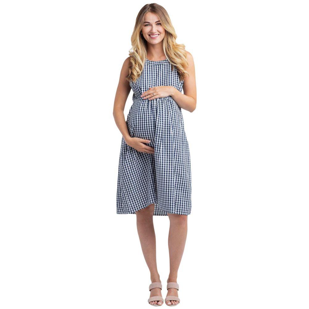 ノム NOM Maternity レディース ワンピース マタニティウェア ワンピース・ドレス【Molly Maternity Dress】Gingham