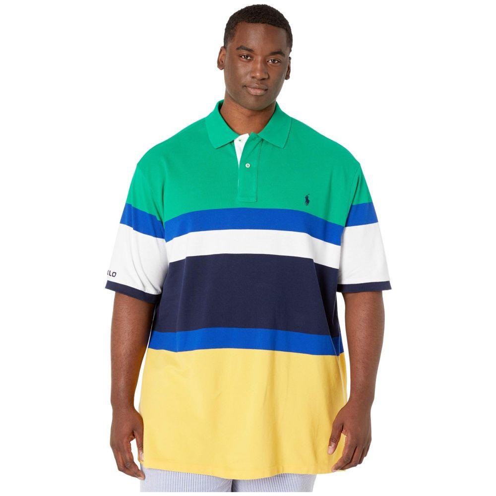 ラルフ ローレン Polo Ralph Lauren Big & Tall メンズ ポロシャツ 大きいサイズ 半袖 トップス【Big & Tall Short Sleeve Mesh Polo】Chroma Green Multi