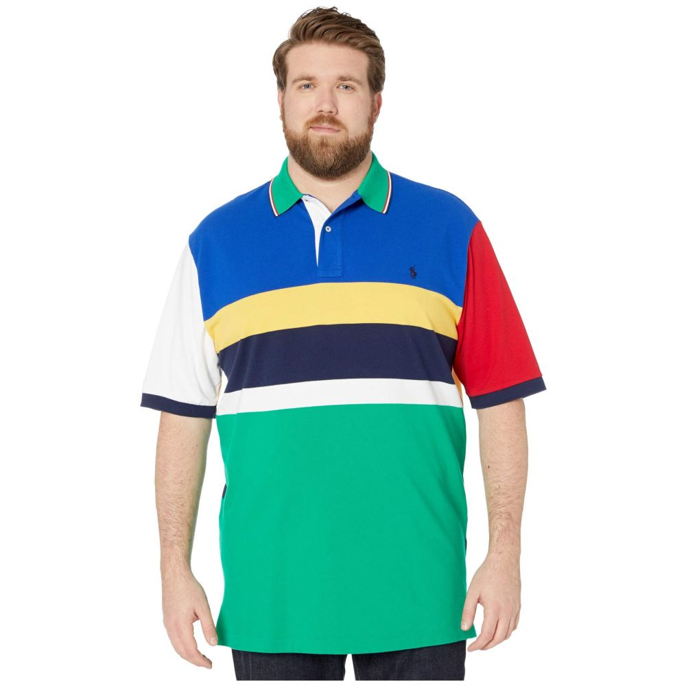 ラルフ ローレン Polo Ralph Lauren Big & Tall メンズ ポロシャツ 大きいサイズ 半袖 トップス【Big & Tall Short Sleeve Mesh Polo】Sapphire Star Multi