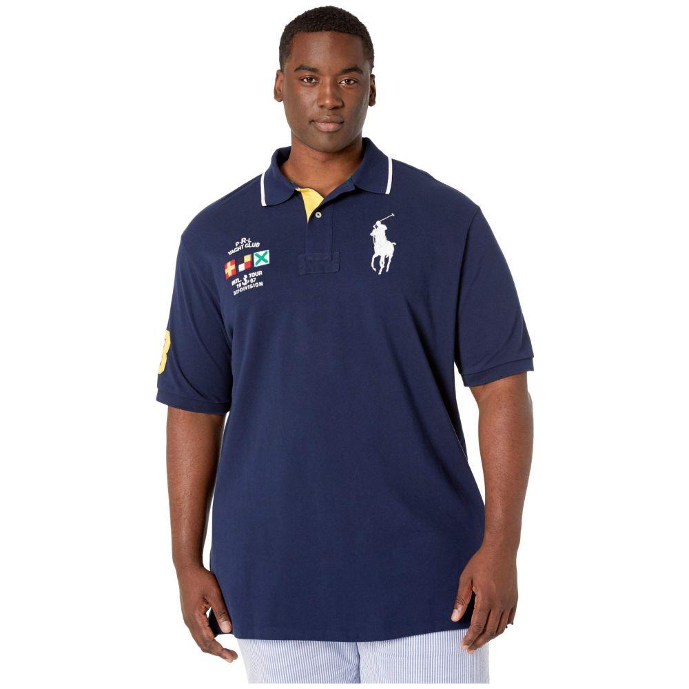 ラルフ ローレン Polo Ralph Lauren Big & Tall メンズ ポロシャツ 大きいサイズ 半袖 トップス【Big & Tall Short Sleeve Basic Mesh Polo】Cruise Navy