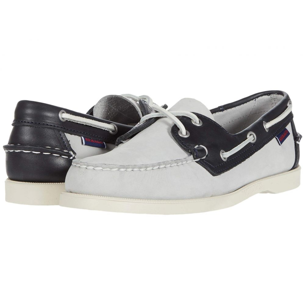 セバゴ Sebago メンズ デッキシューズ シューズ・靴【Spinnaker】Light Grey/Navy/White