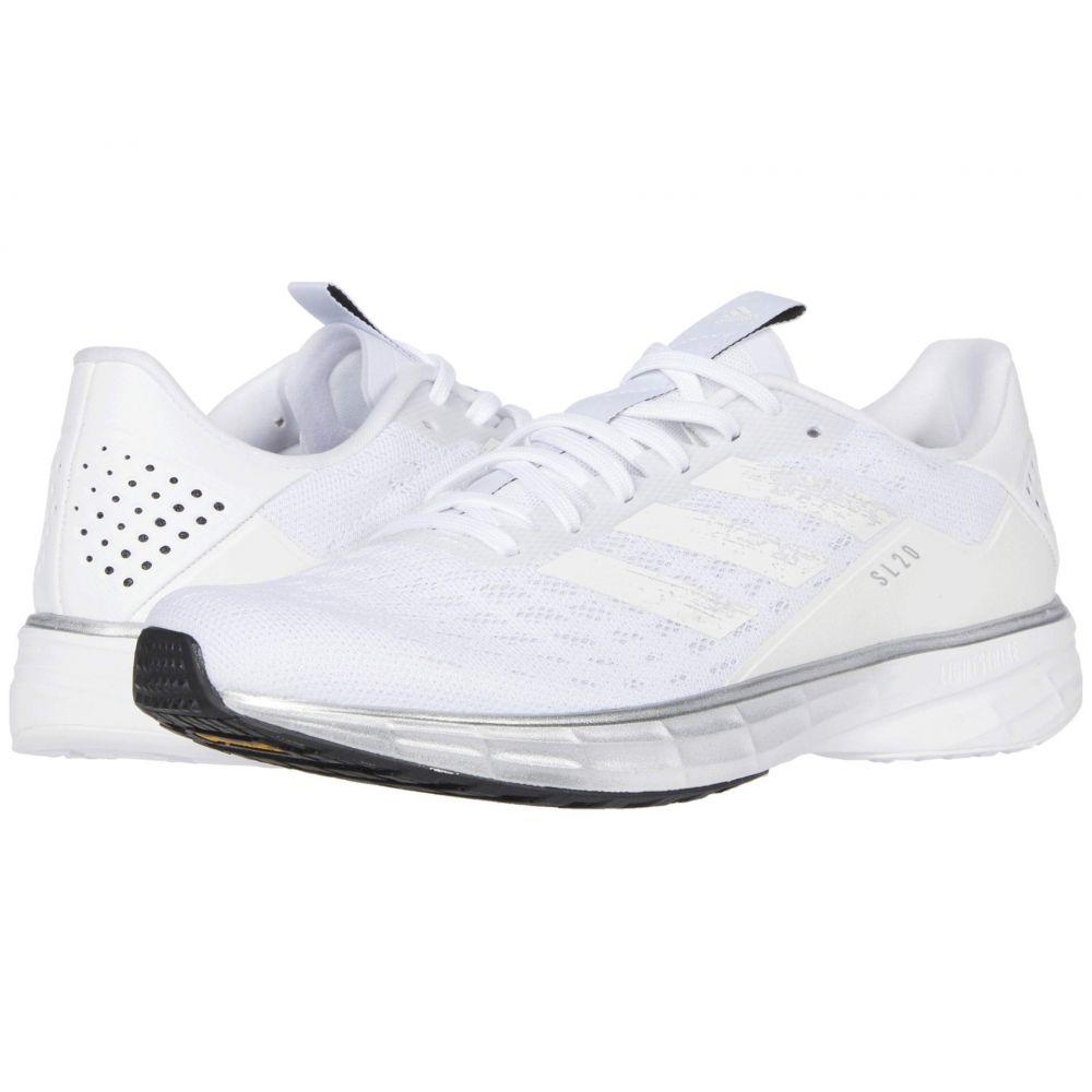 アディダス adidas Running レディース ランニング・ウォーキング シューズ・靴【SL20】Footwear White/Core White/Core Black