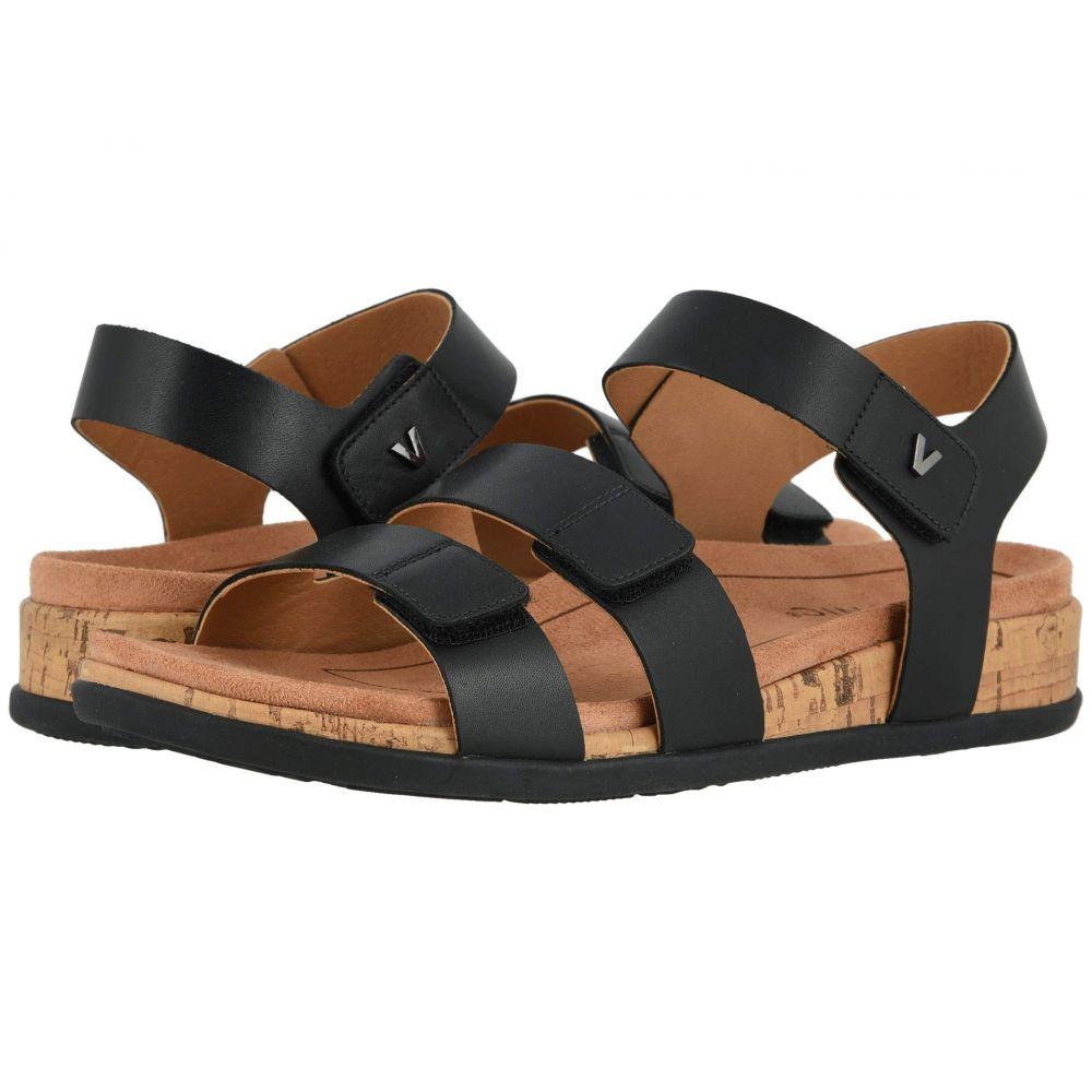 バイオニック VIONIC レディース サンダル・ミュール シューズ・靴【Colleen】Black Leather
