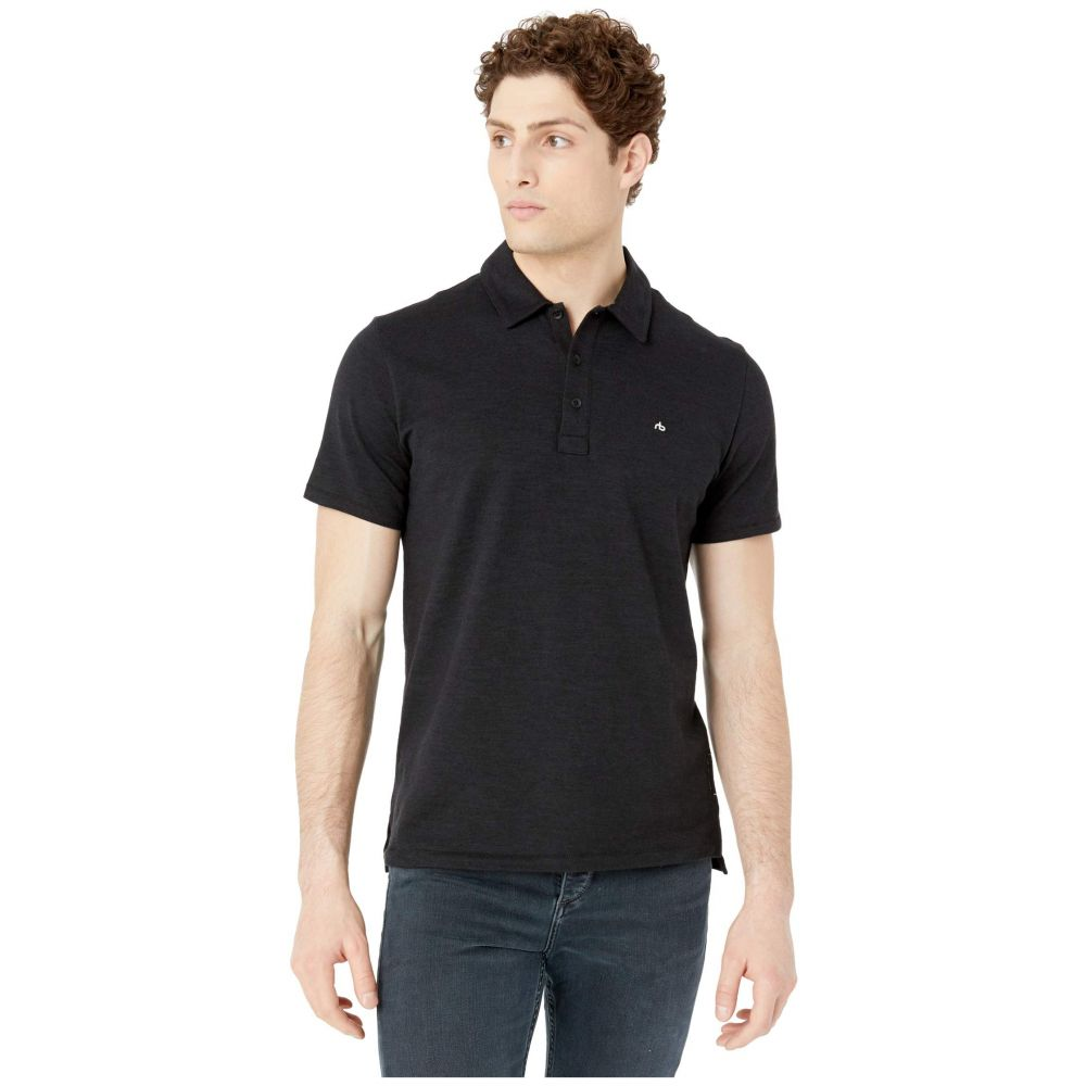 ラグ&ボーン rag & bone メンズ ポロシャツ トップス【Classic Polo】Black
