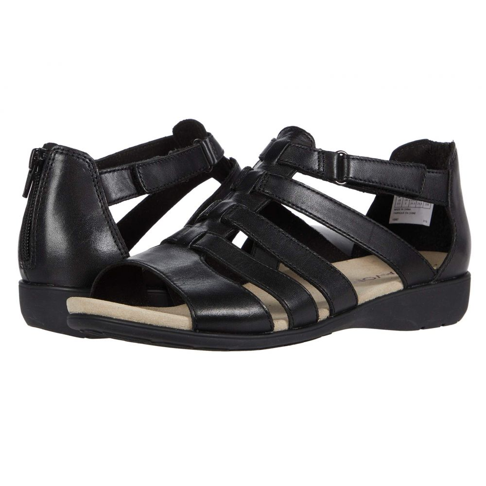 アラヴォン Aravon レディース サンダル・ミュール シューズ・靴【Abbey Gladiator】Black