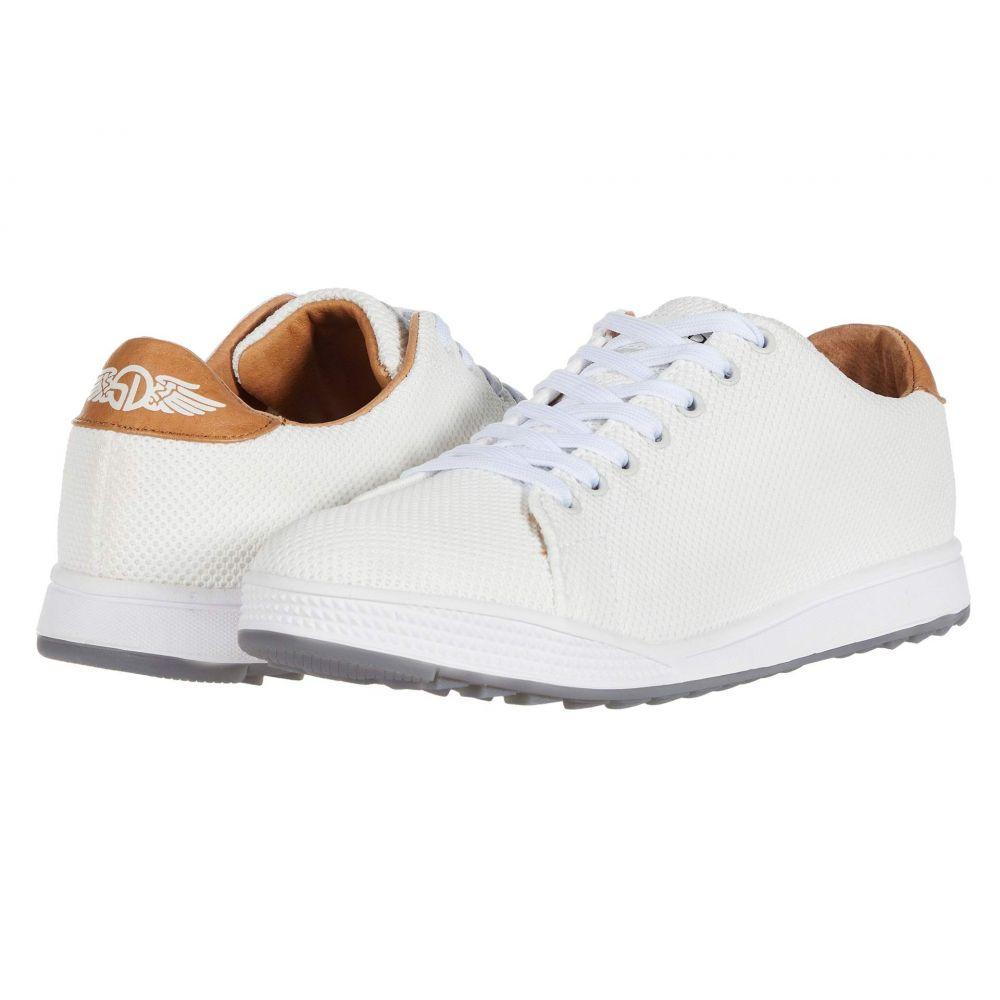 ストレートダウン Straight Down メンズ スニーカー シューズ・靴【The Field】White
