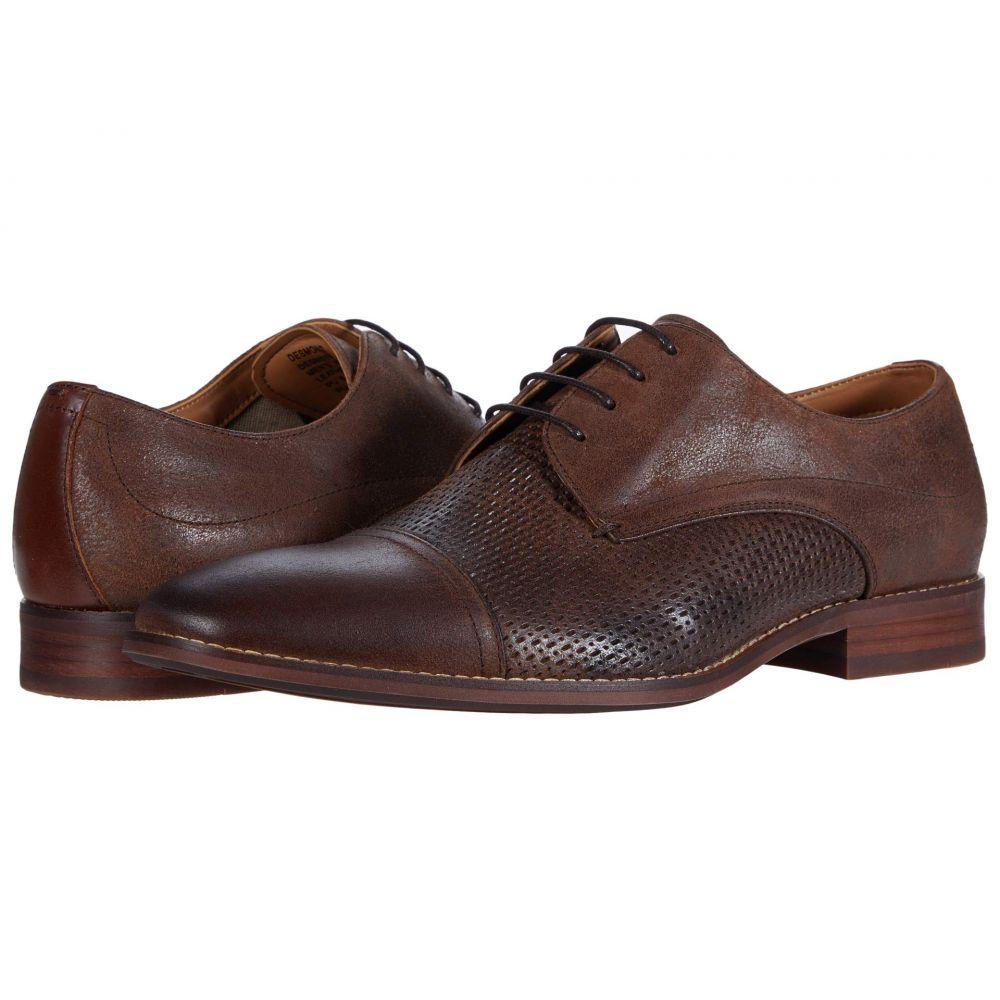 スティーブ マデン Steve Madden メンズ 革靴・ビジネスシューズ シューズ・靴【Desmond Oxford】Brown Leather
