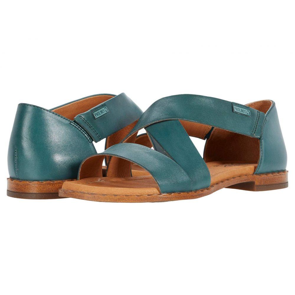 ピコリノス Pikolinos レディース サンダル・ミュール シューズ・靴【Algar W0X-0552】Emerald