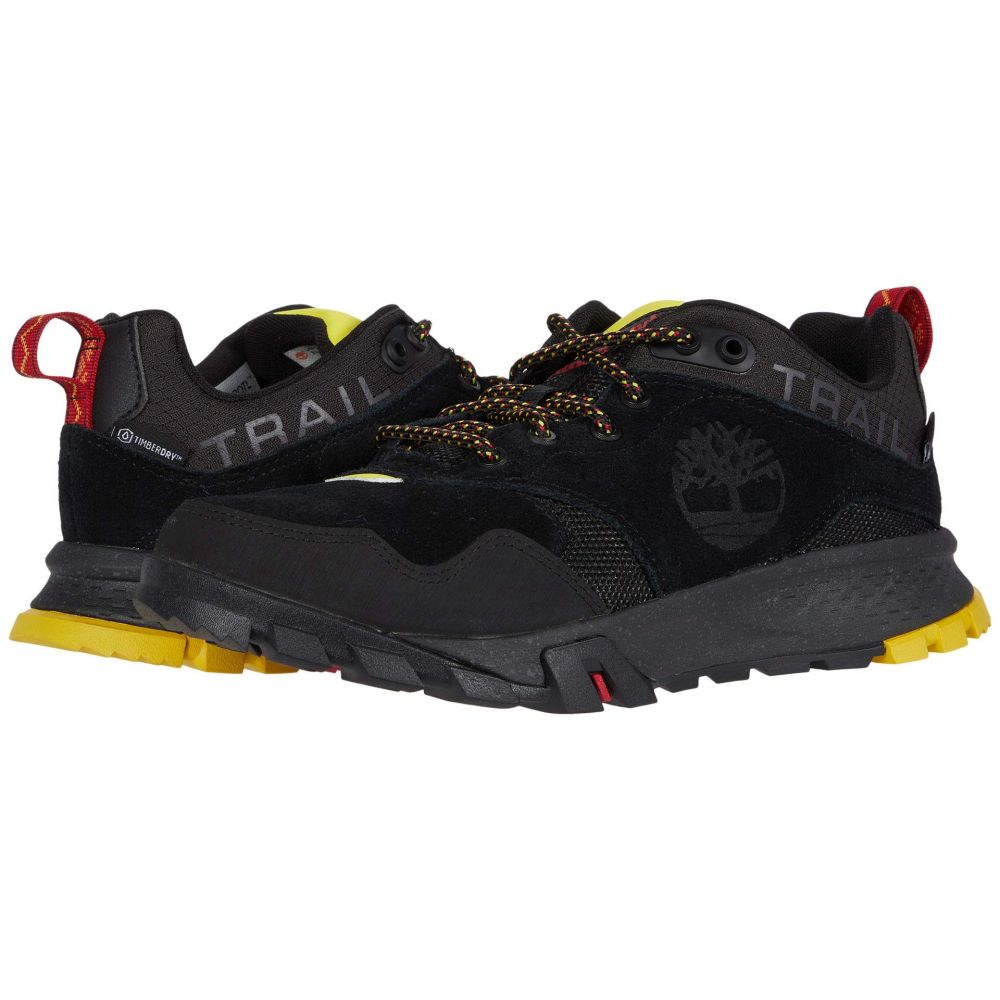 ティンバーランド Timberland メンズ ハイキング・登山 シューズ・靴【Garrison Trail Waterproof Low Hiker】Black Suede
