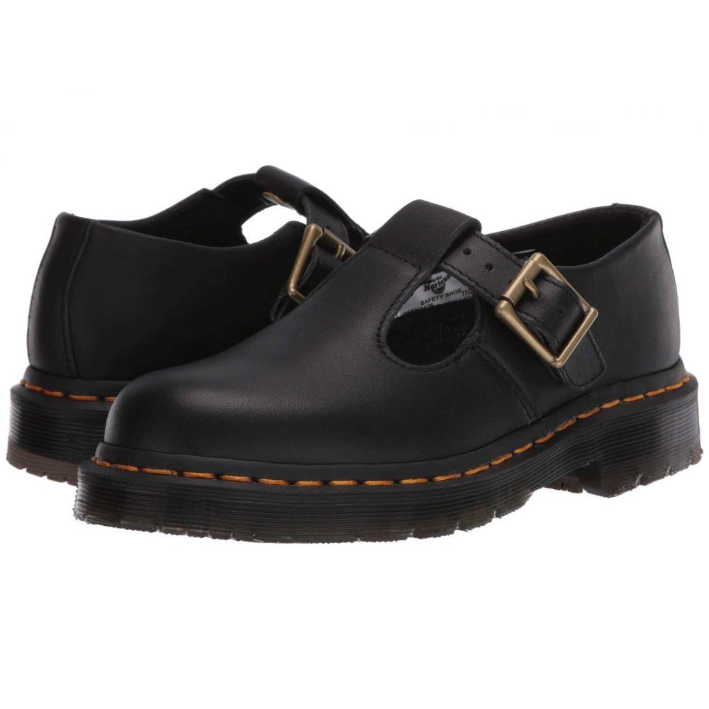 ドクターマーチン Dr. Martens Work レディース ローファー・オックスフォード シューズ・靴【Polley Slip-Resistant Mary-Jane】Black Industrial