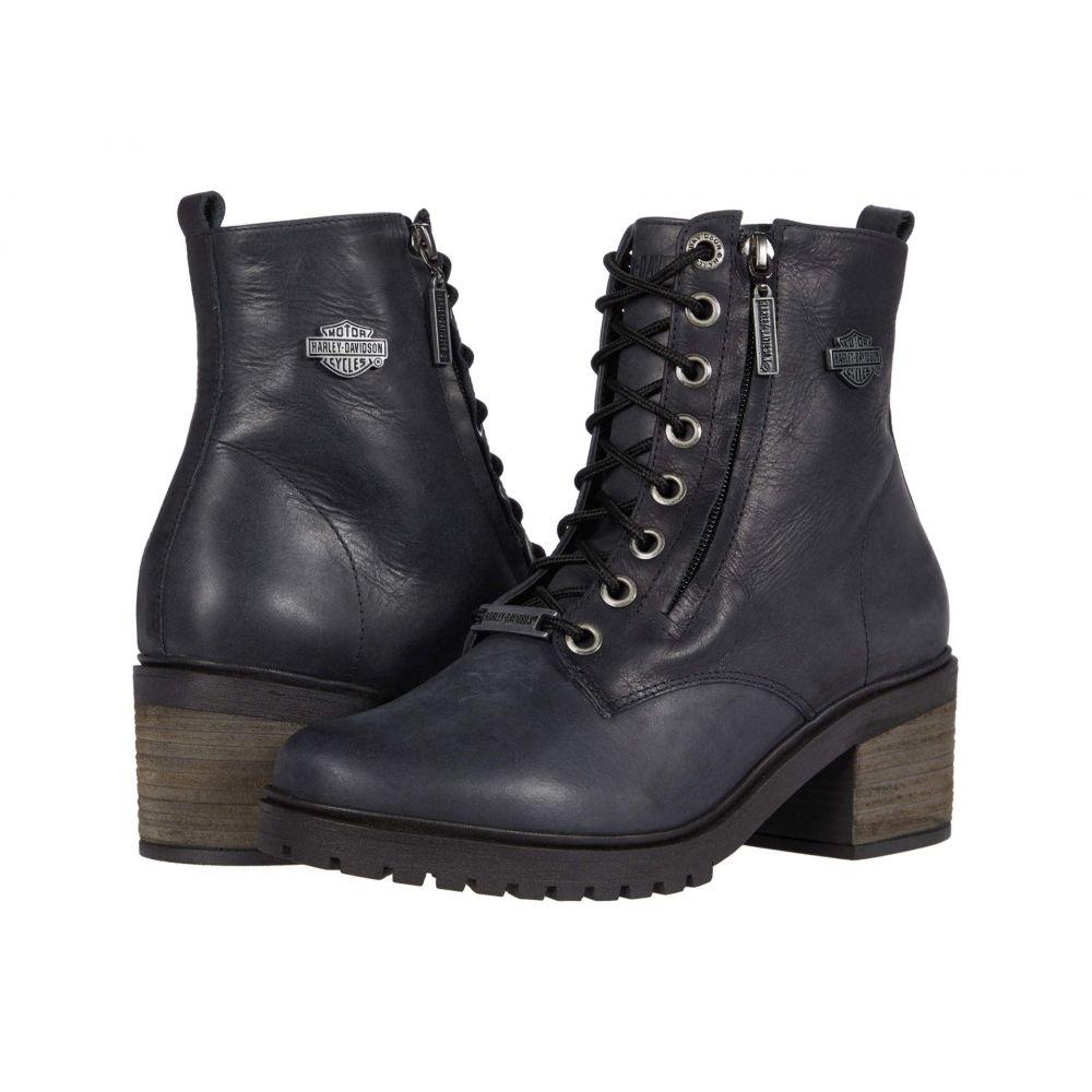 ハーレーダビッドソン Harley-Davidson レディース ブーツ シューズ・靴【Annetta】Dark Grey
