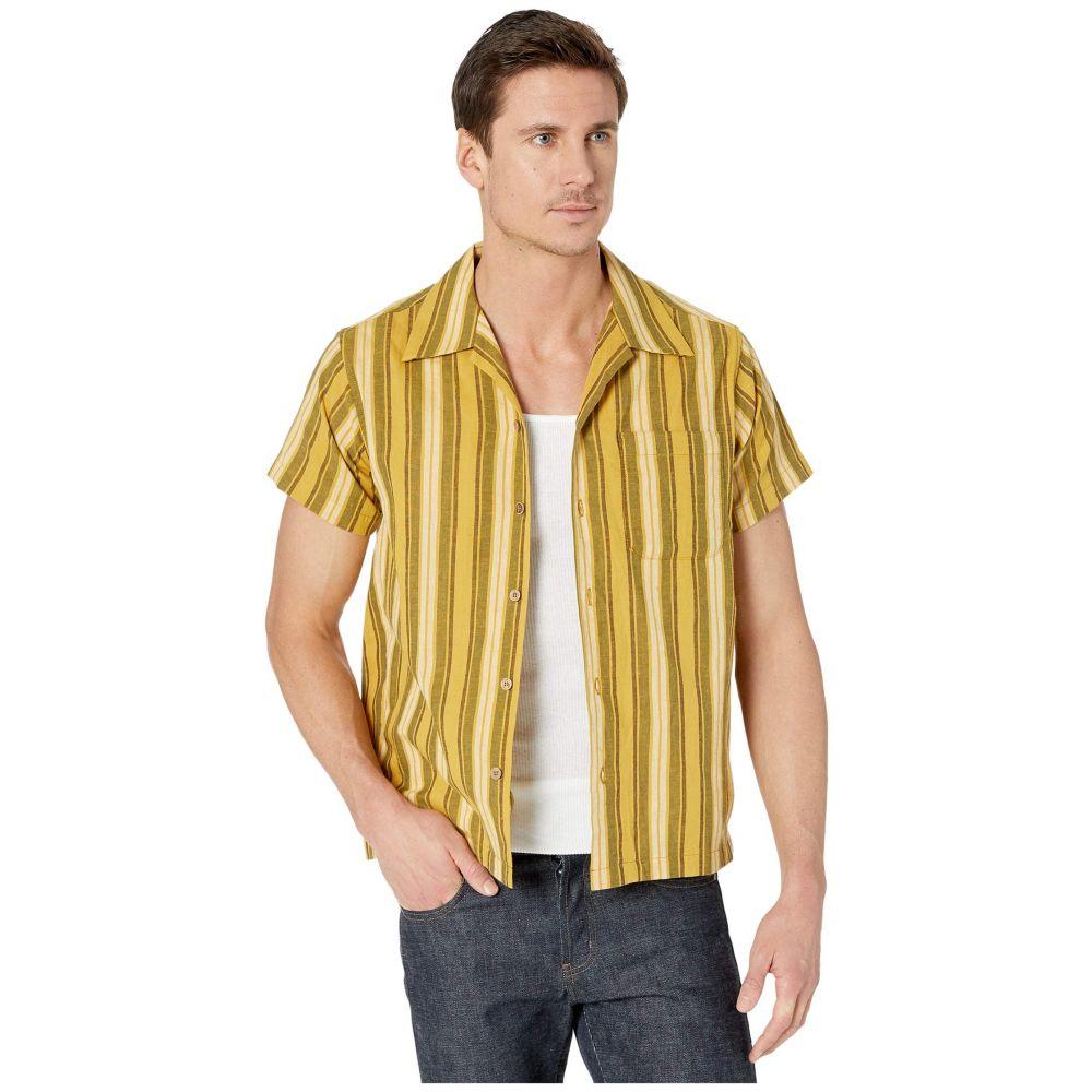 ネイキッド アンド フェイマス Naked & Famous メンズ シャツ トップス【Aloha Shirt】Sahara Stripe/Yellow