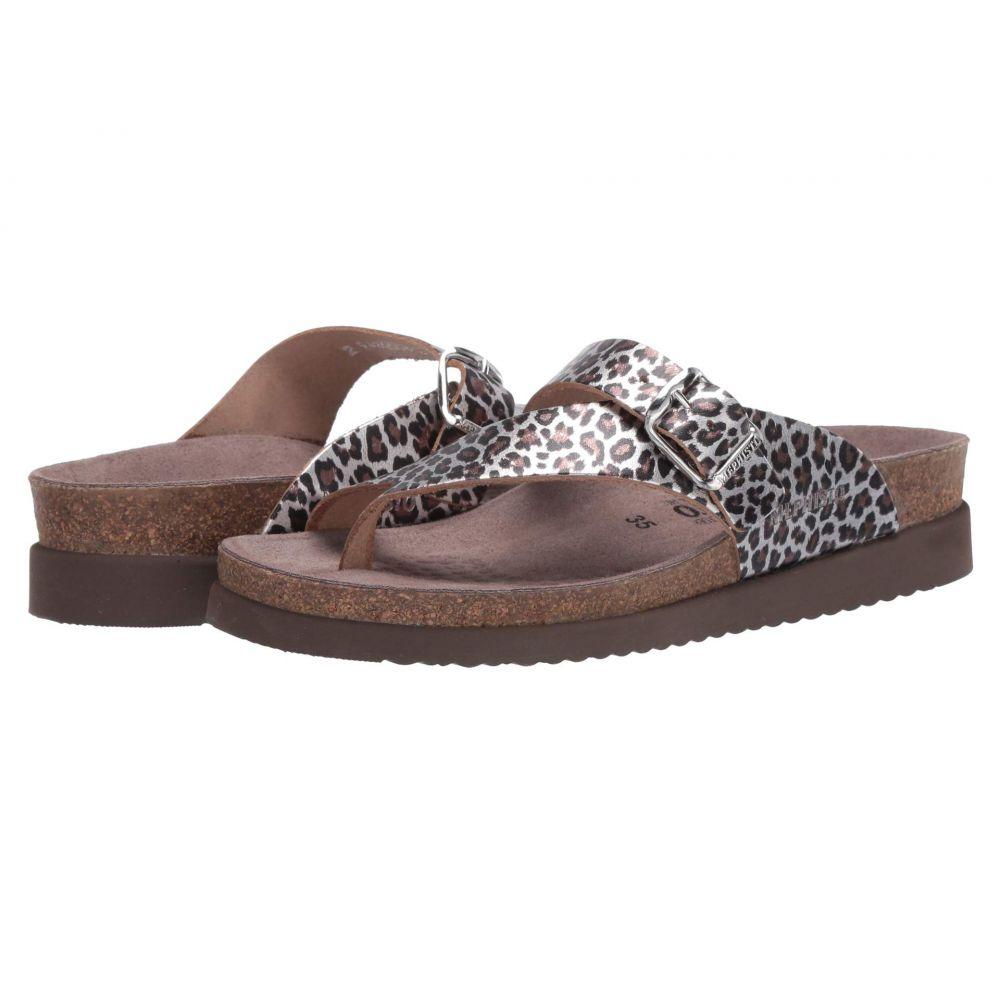 メフィスト Mephisto レディース サンダル・ミュール シューズ・靴【Helen】Brown Panthera