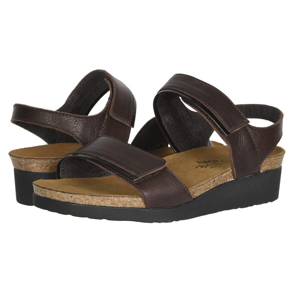 ナオト Naot レディース サンダル・ミュール シューズ・靴【Aisha - Wide】Soft Brown Leather/Walnut Leather
