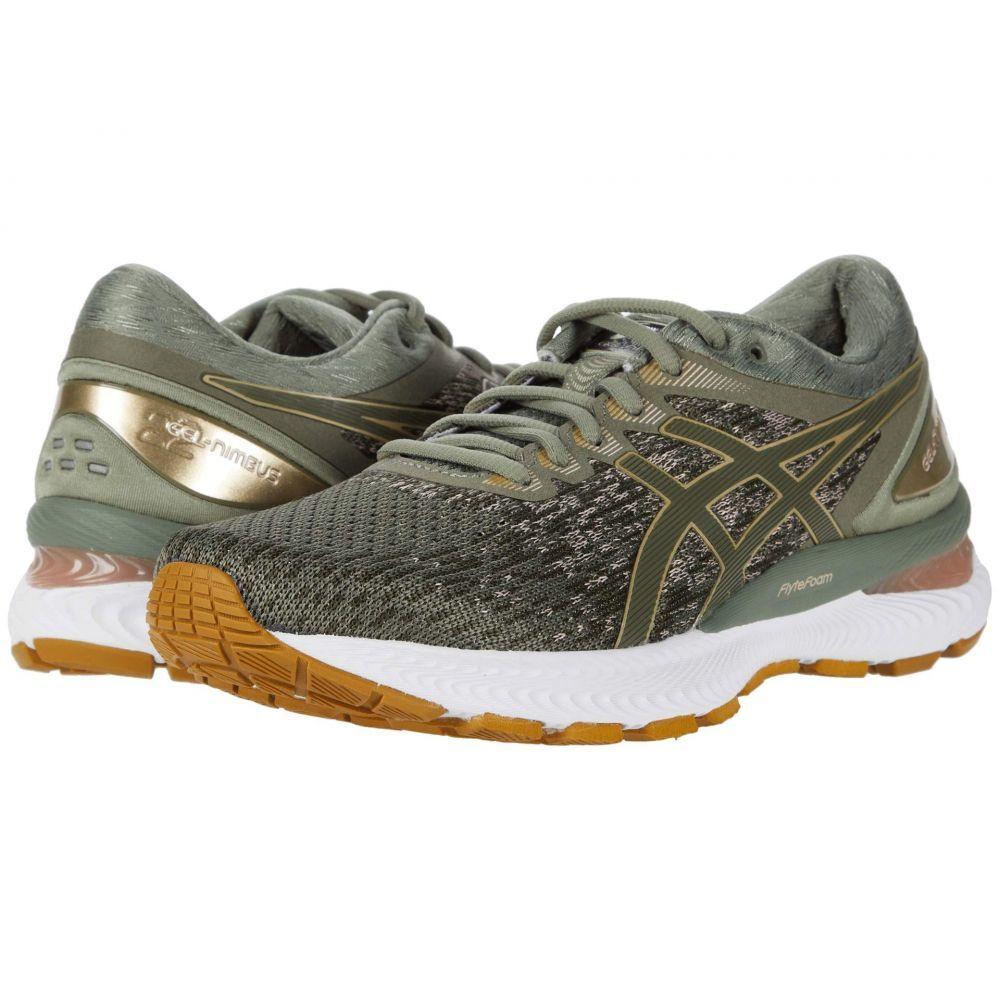 アシックス ASICS レディース ランニング・ウォーキング シューズ・靴【GEL-Nimbus 22】Lichen Green/Mantle Green