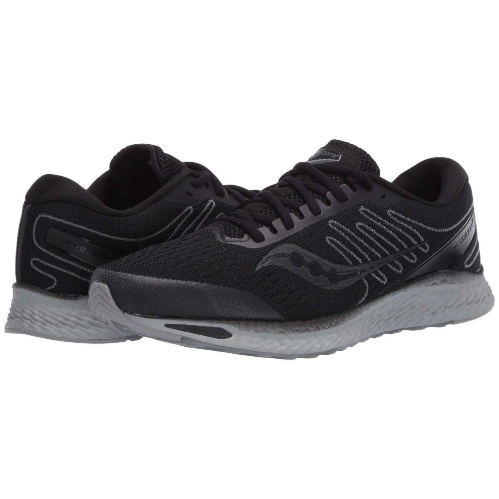 サッカニー Saucony メンズ ランニング・ウォーキング シューズ・靴【Freedom 3】Blackout