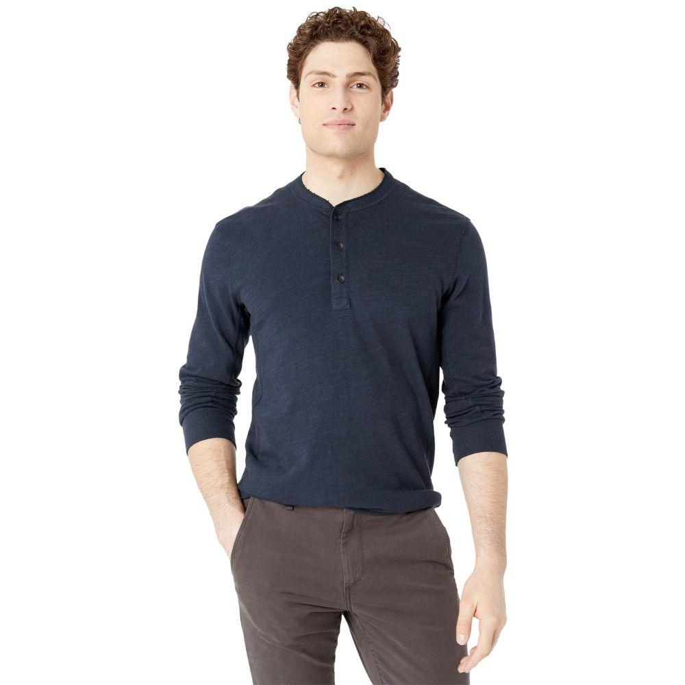 ラグ&ボーン rag & bone メンズ Tシャツ ヘンリーシャツ トップス【Classic Henley】Deep Navy