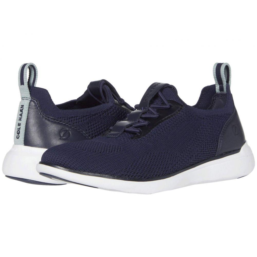 コールハーン Cole Haan レディース スニーカー シューズ・靴【Zerogrand Global Trainer】Marine Blue Knit/Ether/Optic White