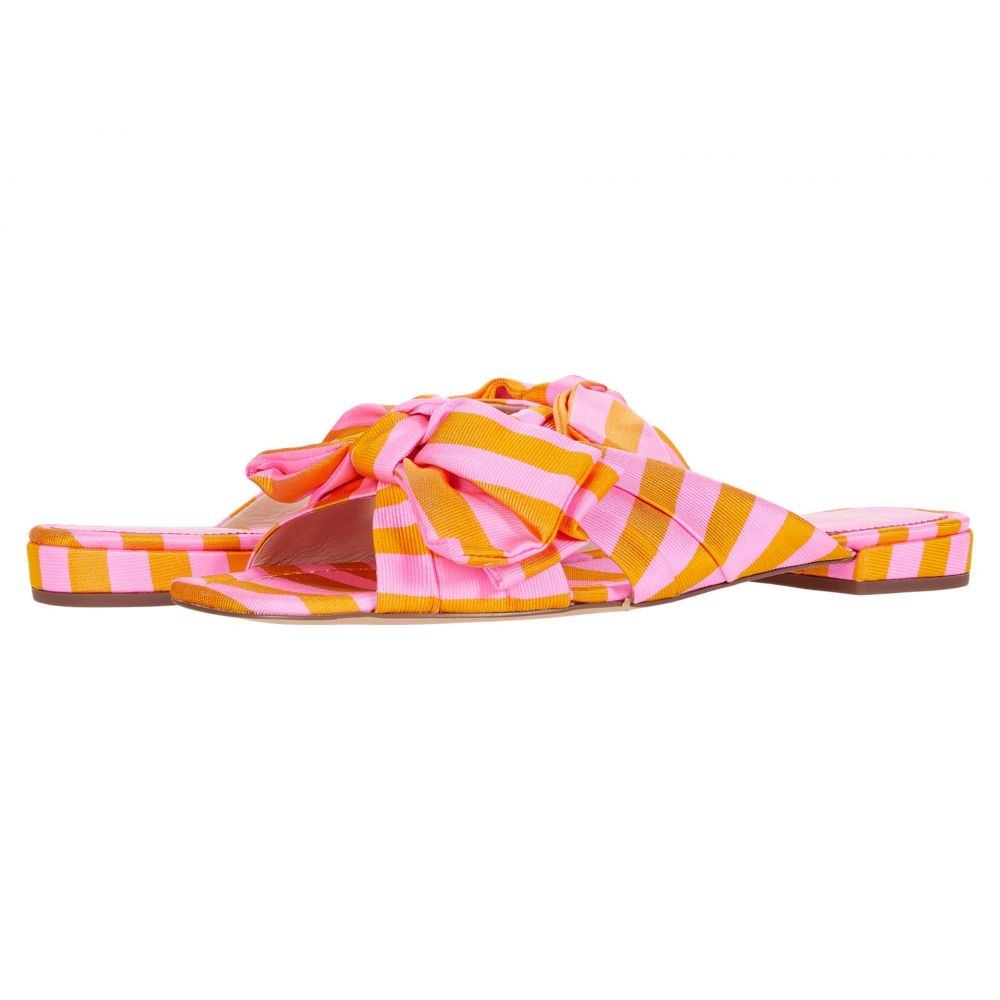 ジェイクルー J.Crew レディース スリッポン・フラット シューズ・靴【Tie Stripe Bow Lucy Slide】