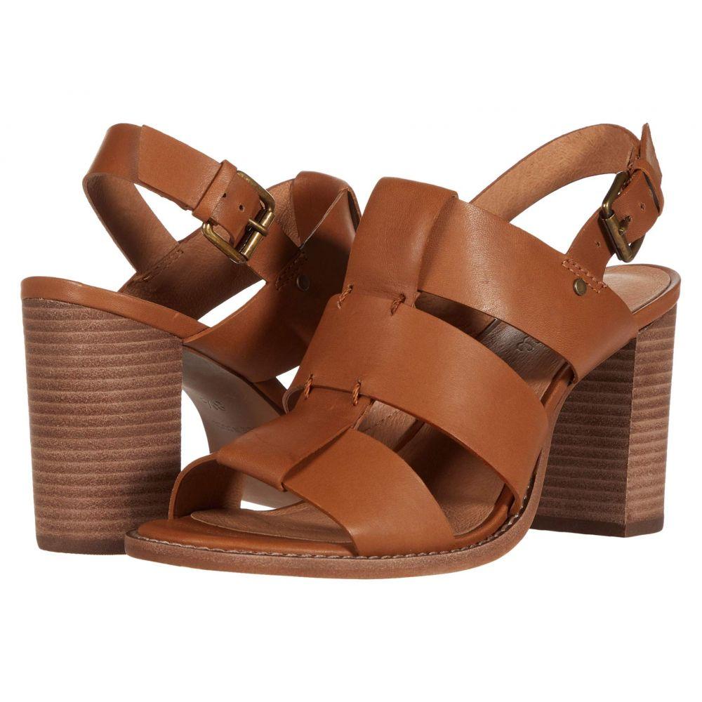 メイドウェル Madewell レディース サンダル・ミュール シューズ・靴【Gail Wide Strap Heeled Sandal】English Saddle