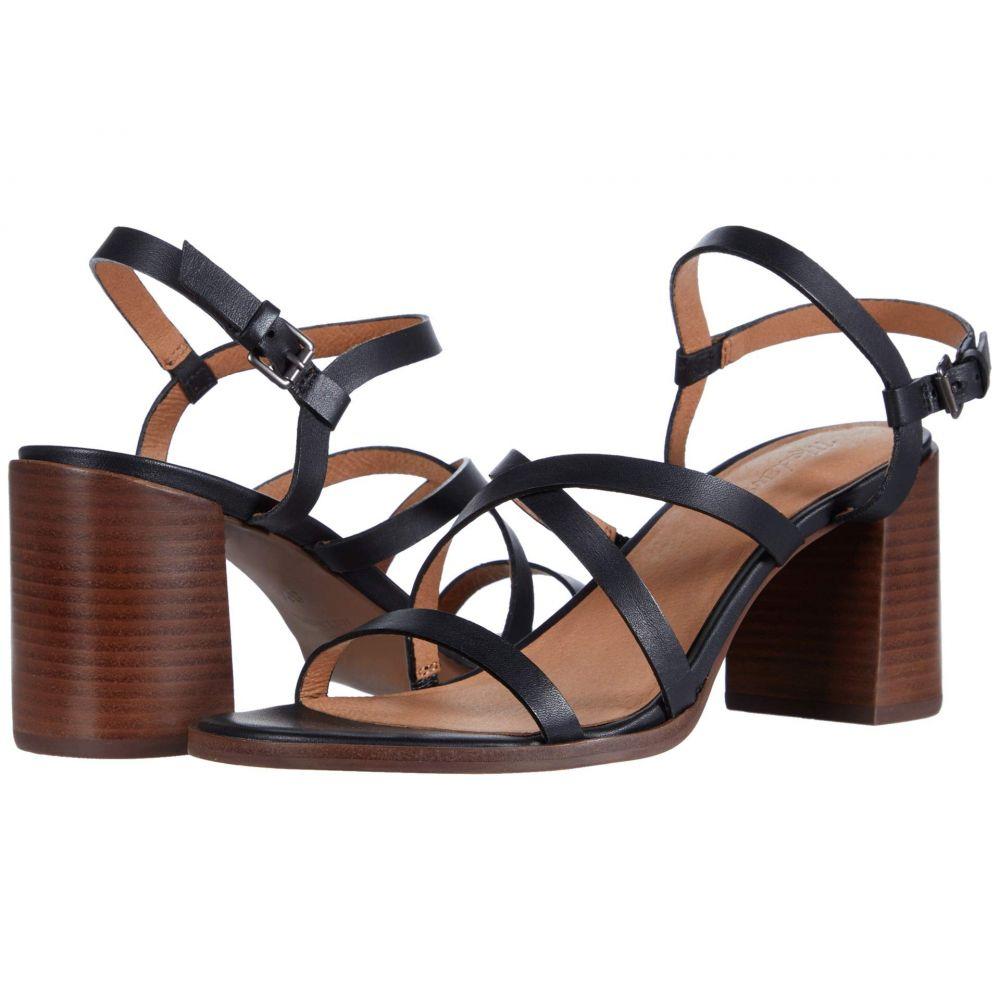 メイドウェル Madewell レディース サンダル・ミュール シューズ・靴【Sabine Skinny Strap Heeled Sandal】True Black