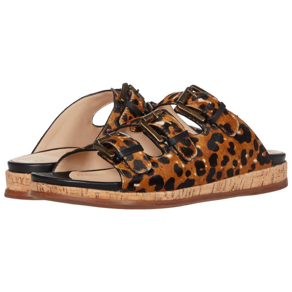 ジョンストン&マーフィー Johnston & Murphy レディース サンダル・ミュール シューズ・靴【Julia】Leopard Haircalf