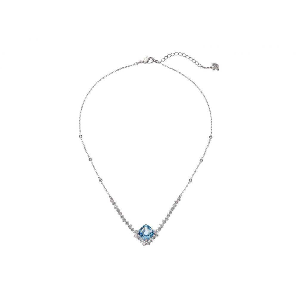 スワロフスキー Swarovski レディース ネックレス ジュエリー・アクセサリー【Sparkling Necklace】Aquamarine