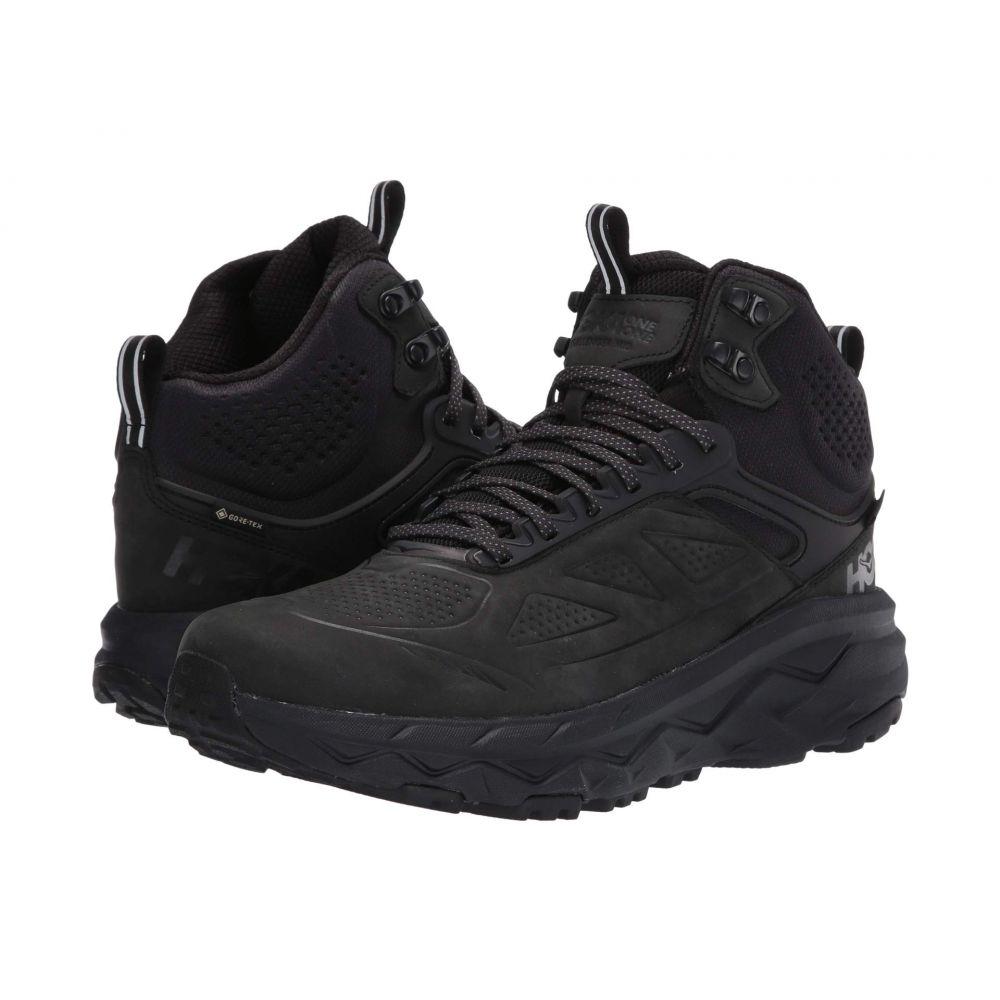 ホカ オネオネ Hoka One One メンズ ランニング・ウォーキング シューズ・靴【Challenger Mid GORE-TEX】Black