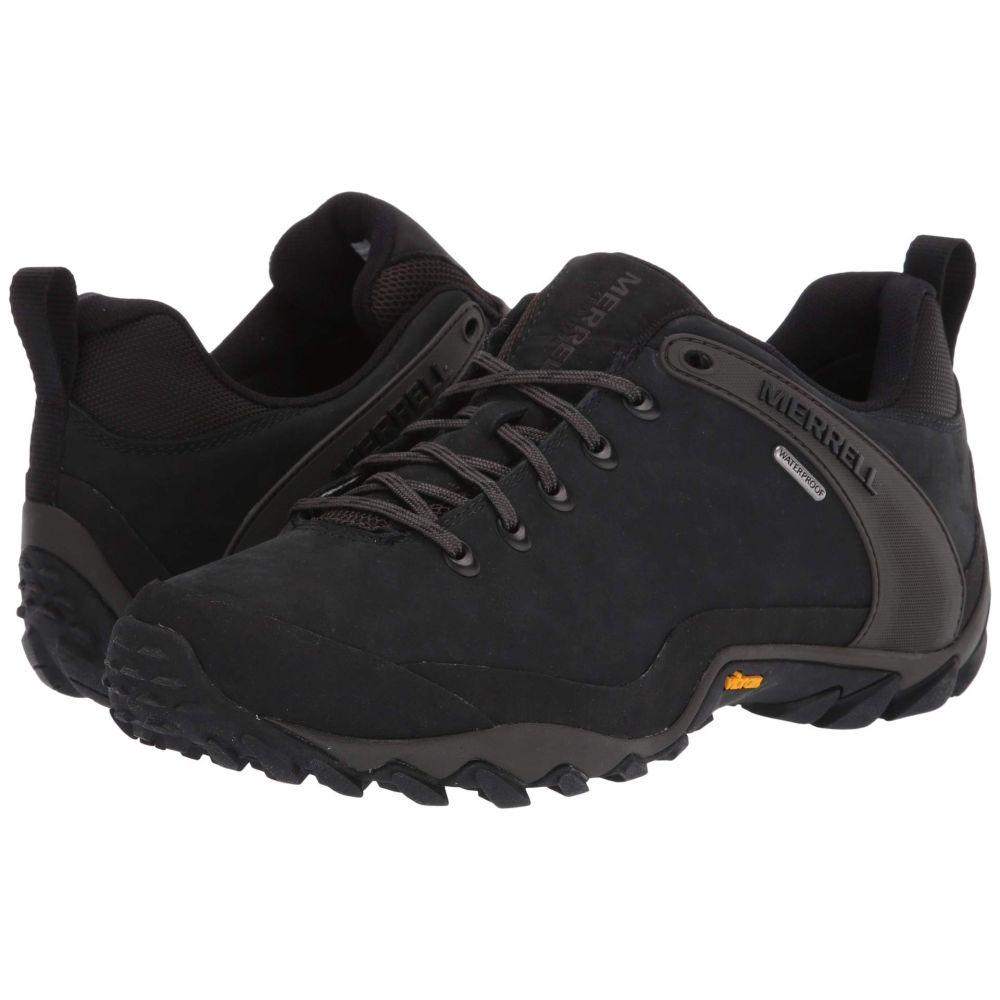 メレル Merrell メンズ ハイキング・登山 シューズ・靴【Chameleon 8 Leather Waterproof】Black