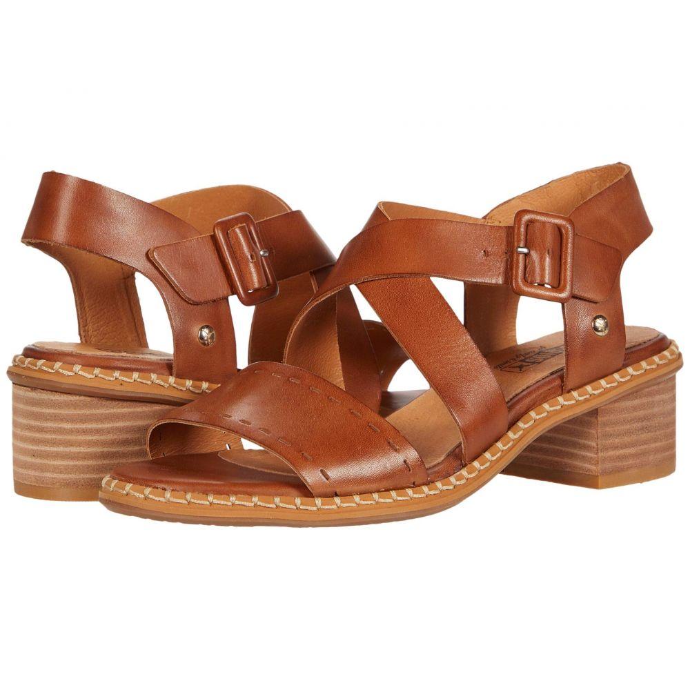 ピコリノス Pikolinos レディース サンダル・ミュール シューズ・靴【Blanes W3H-1892】Brandy