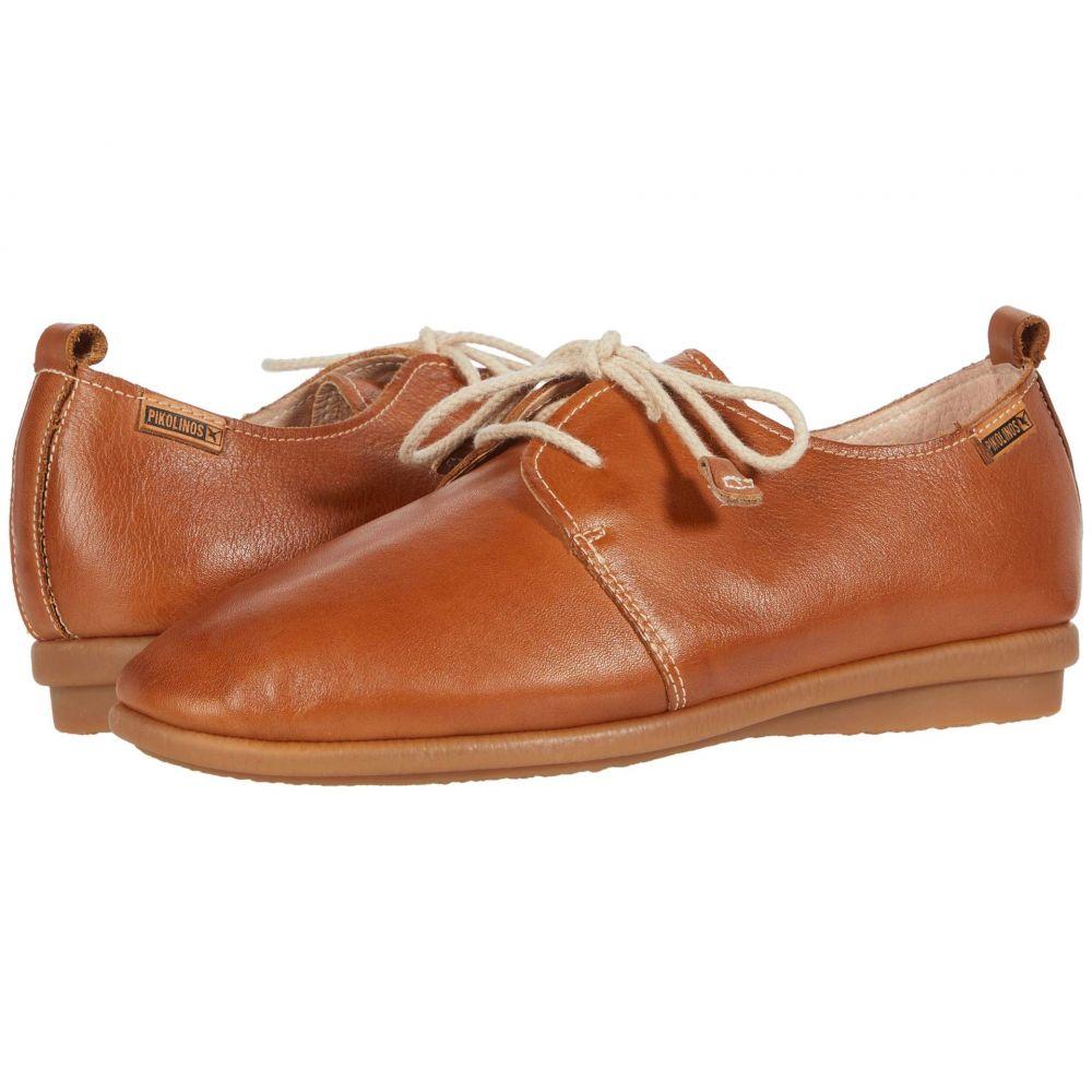ピコリノス Pikolinos レディース ローファー・オックスフォード シューズ・靴【Calabria W9K-4985】Brandy