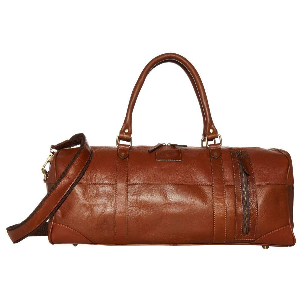 フローシャイム Florsheim メンズ ボストンバッグ・ダッフルバッグ バッグ【Hawkin Leather Duffel Bag】Brown