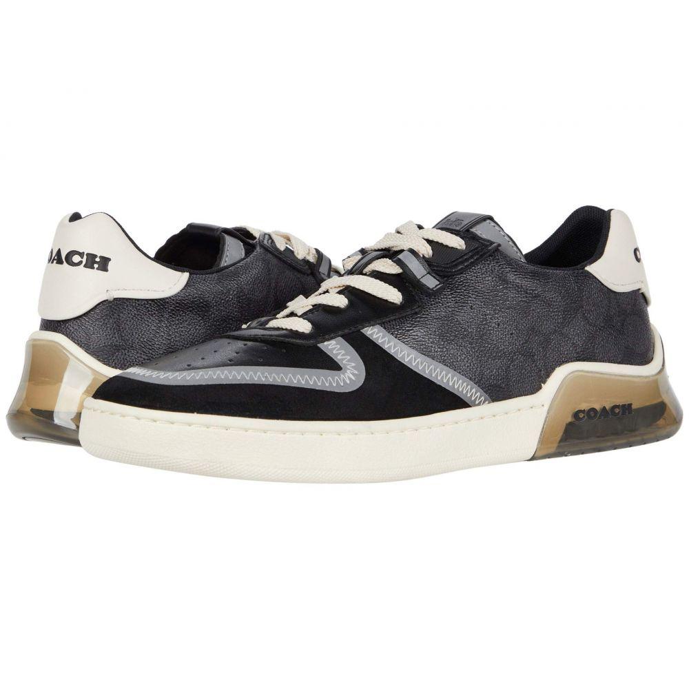 コーチ COACH メンズ バスケットボール シューズ・靴【Signature Tech Court】Charcoal/Black